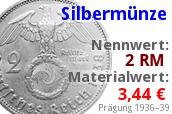 Silber Reichsmark