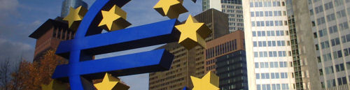 EZB Zentrale in Frankfurt am Main