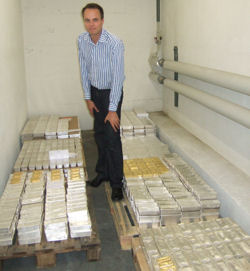 Das sind die Gold- und Silberbarren der Anleger