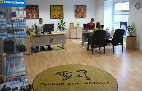 Kundenhalle vom Edelmetallshop Lindau