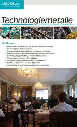 euroforum zu technologiemetallen und seltenen erden