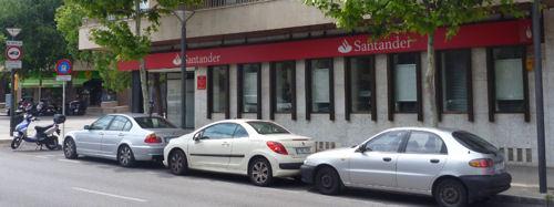 santander bank spanien