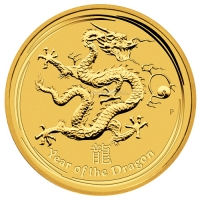 Golddrache der Lunar-Serie
