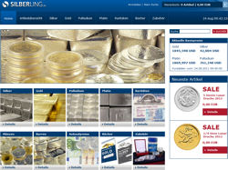Silberling - Online-Shop