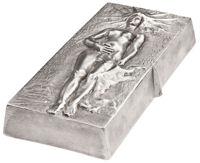 Kunstbarren aus Silber