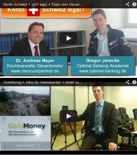 Video zu steuerehrlichem Vermögen im Ausland + GoldMoney und Jersey