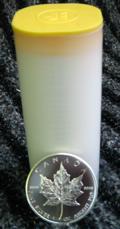 Maple Leaf Silber