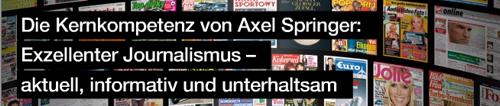 Axel Springer: führendes deutsches Verlagshaus aus Berlin