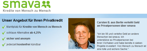 Eine interessante Alternative vor allem für Kreditsuchende.