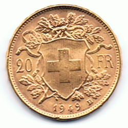 20 Gold-Vreneli