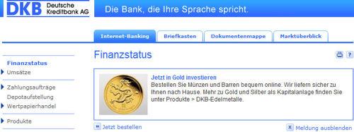 dkb gold kaufen