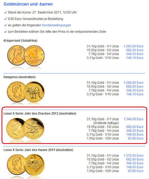 gold drache dkb