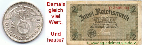 2 x 2 Reichsmark